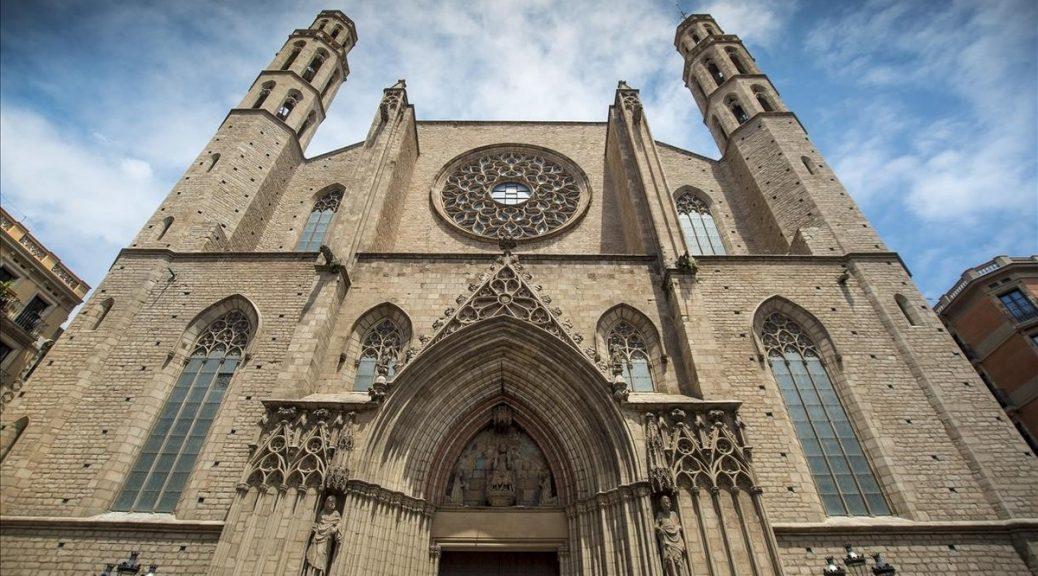 BARCELONA  30 05 2016 Barcelona como escenario literario   La catedral del mar   Falcones   foto de la catedral Santa Maria del Mar  FOTO FERRAN SENDRA