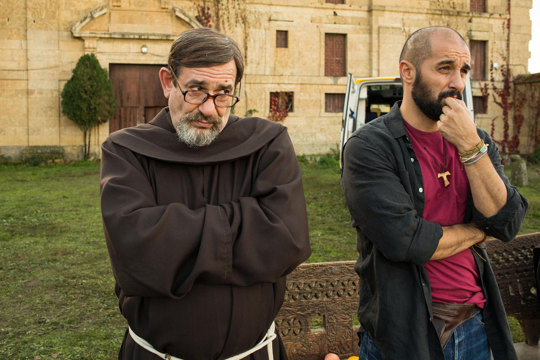Comienza el rodaje de QUE BAJE DIOS Y LO VEA con Karra Elejalde y Alain Hernández