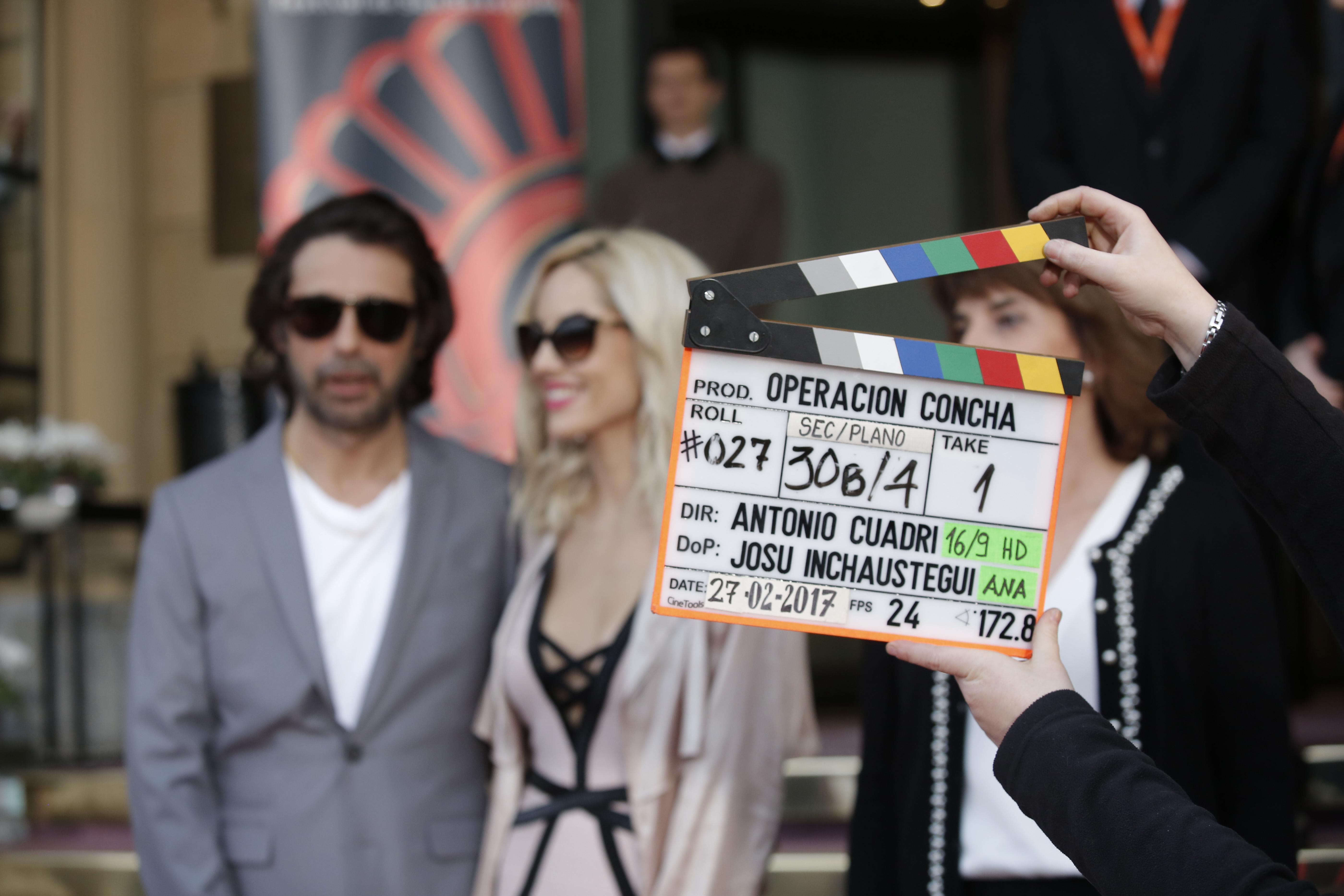 Comienza el rodaje de OPERACIÓN CONCHA dirigida por Antonio Cuadri y protagonizada por Jordi Mollá y Karra Elejalde.