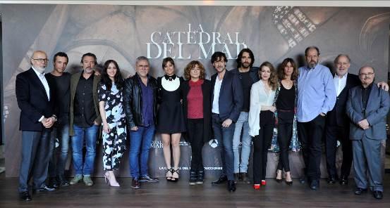 DIAGONAL TV presenta 'La Catedral del Mar', su nueva serie para Antena 3