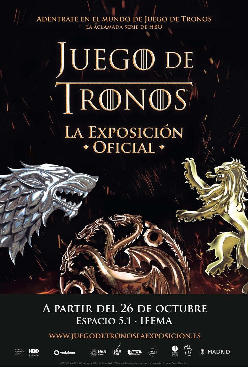 Juego de Tronos. La Exposición Oficial